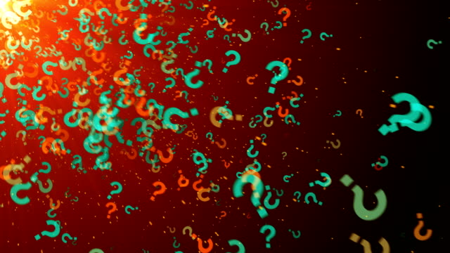 question mark asking ideas - question mark stock videos & royalty-free footage
