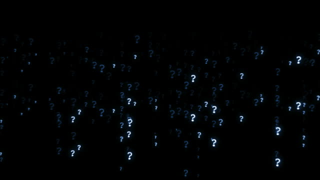 question mark background loop - question mark stock videos & royalty-free footage