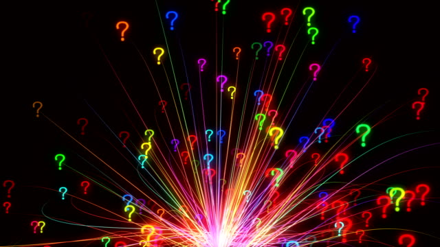 question mark concept - question mark stock videos & royalty-free footage