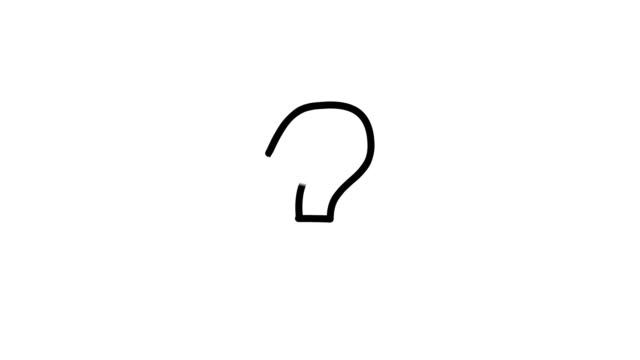 question mark - punctuation mark stock videos & royalty-free footage