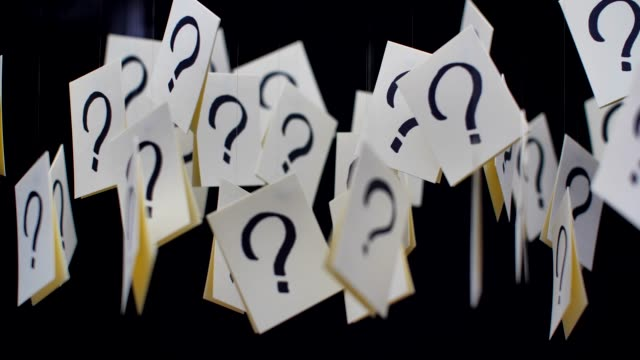 question mark - uncertainty stock videos & royalty-free footage