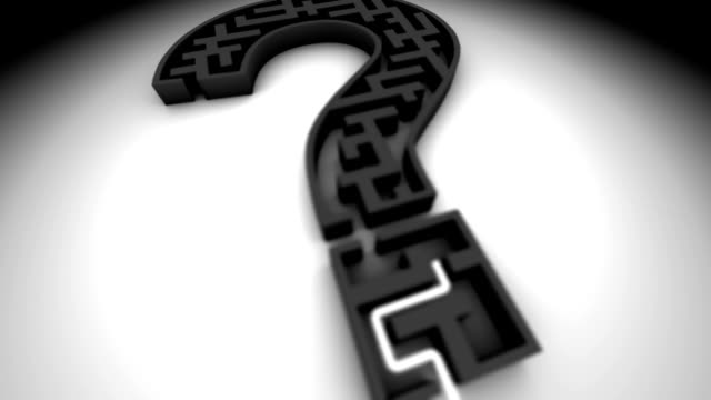 question mark - maze stock videos & royalty-free footage