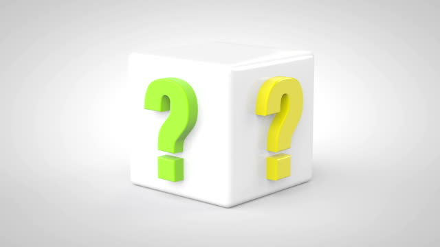 question marks concept - question mark stock videos & royalty-free footage