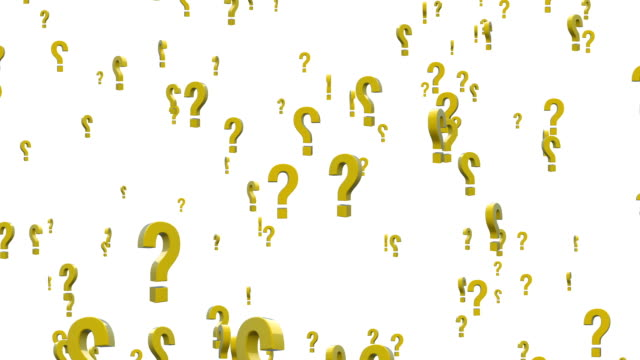 question marks - question mark stock videos & royalty-free footage