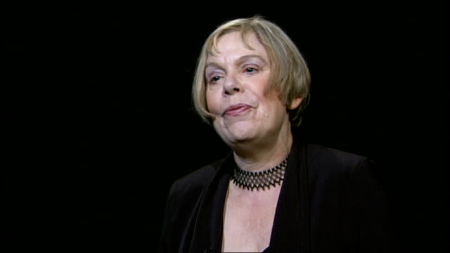 london karen armstrong interview sot - forgiveness stock videos and b-roll footage