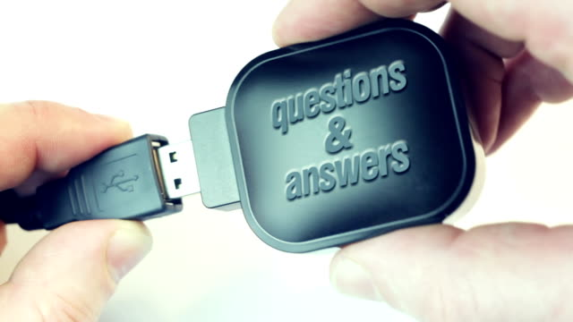 questions & answers - punctuation mark stock videos & royalty-free footage