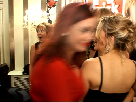 quick and tv choice awards: arrivals and winners interviewed; loose women cast posing together as sharon marshall walks off in a temper and loose... - jane mcdonald stock videos & royalty-free footage