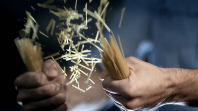 quick cut shots of a meal being cooked - spaghetti stock videos & royalty-free footage