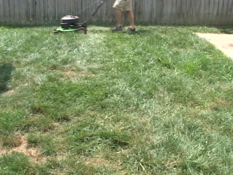 quick lawn cut - lawn stock videos & royalty-free footage