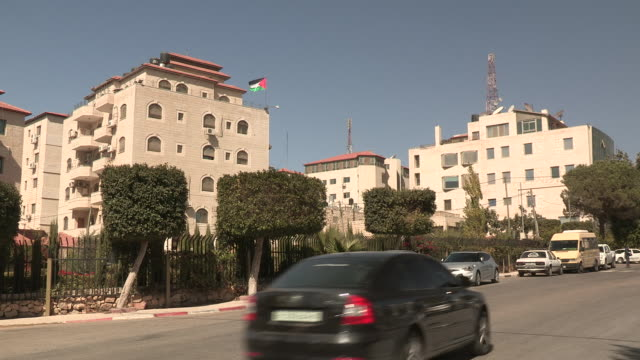 quiet apartments, ramallah, palestine - palestinian territories stock videos and b-roll footage