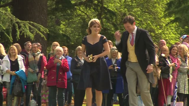a quiet corner of rural berkshire played host to the society wedding of the year today as pippa middleton married her hedge fund manager fiance james... - fiancé stock videos & royalty-free footage