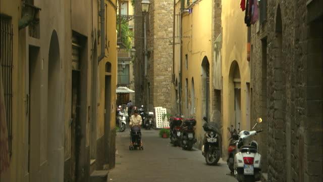 Quiet Street, Florence, Italy