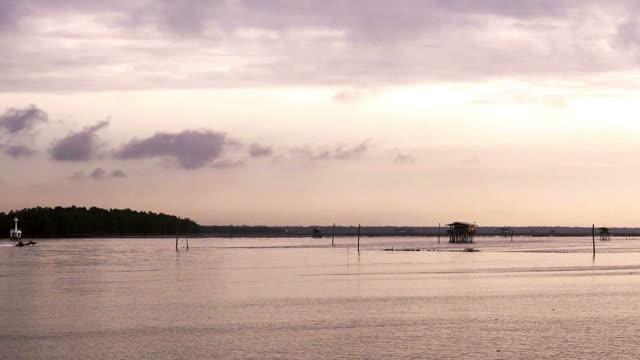 Quiet tropical ocean in the morning