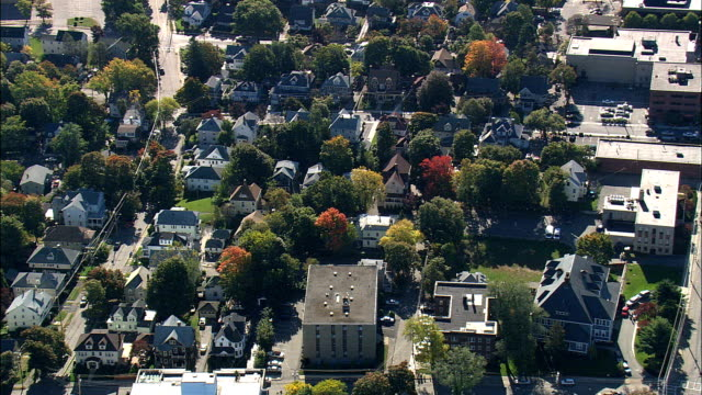 Quincy  - Aerial View - Massachusetts,  Norfolk County,  United States
