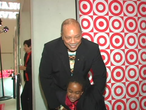 quincy jones and khamani griffin at the debbie allen dance academy presents dreams at freud playhouse in los angeles ca - playhouse stock videos & royalty-free footage