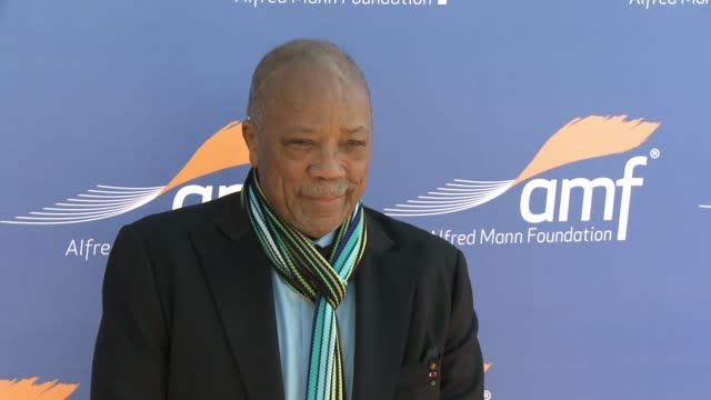 Quincy Jones at Alfred Mann Foundation's An Evening Under the Stars with Andrea Bocelli in Los Angeles CA