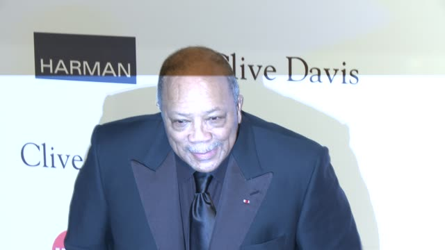 quincy jones at pre-grammy gala & salute to industry icons with clive davis honoring antonio l.a. reid 2/9/2013 in beverly hills, ca. - quincy jones stock-videos und b-roll-filmmaterial