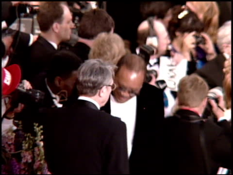quincy jones at the 1995 academy awards arrivals at the shrine auditorium in los angeles california on march 27 1995 - quincy jones stock videos & royalty-free footage