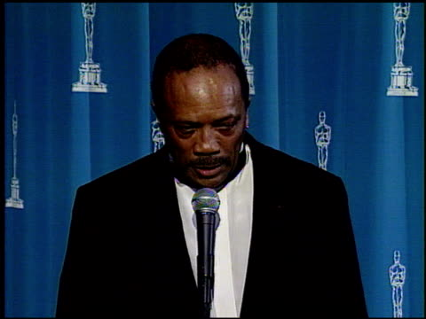 Quincy Jones at the 1995 Academy Awards at the Shrine Auditorium in Los Angeles California on March 27 1995