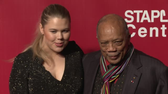 Quincy Jones at the 2016 MusiCares Person of The Year Honoring Lionel Richie at Los Angeles Convention Center on February 13 2016 in Los Angeles...
