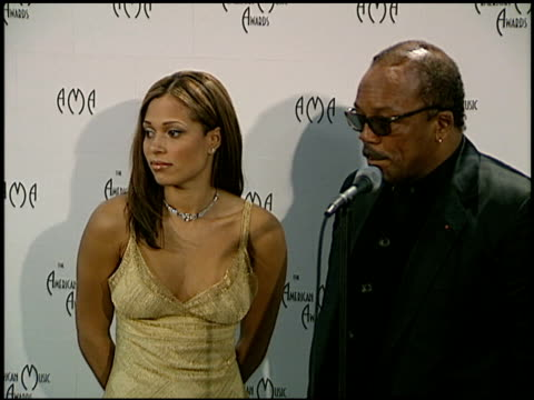 Quincy Jones at the American Music Awards at the Shrine Auditorium in Los Angeles California on January 27 1997