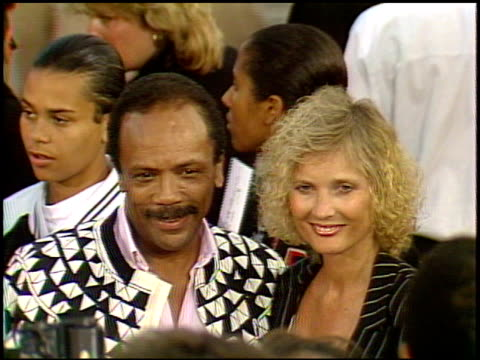 Quincy Jones at the 'Batman' Premier on May 19 1989