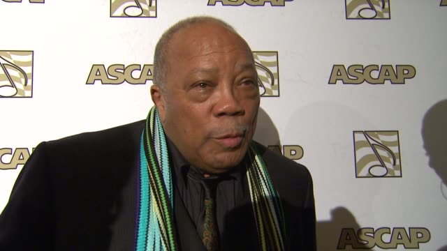 quincy jones at the event at 25th ascap rhythm soul music awards on 6/29/12 in los angeles ca - quincy jones stock videos & royalty-free footage