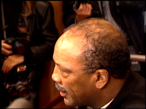 quincy jones at the premiere of 'the birdcage' on march 5 1996 - quincy jones stock videos & royalty-free footage