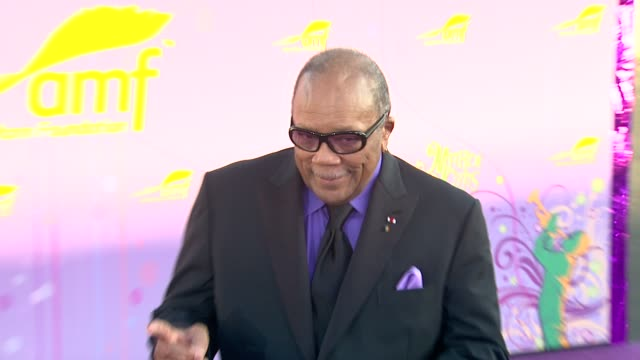 Quincy Jones at the The Alfred Mann Foundation's Annual BlackTie Gala at Santa Monica CA