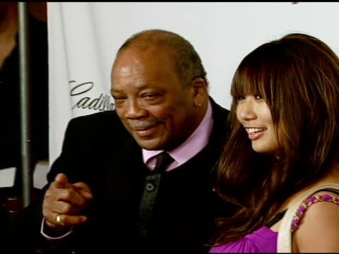 quincy jones at the the thelonious monk institute of jazz and the recording academy® los angeles chapter partner to honor jazz icon herbie hancock at... - herbie hancock stock videos & royalty-free footage