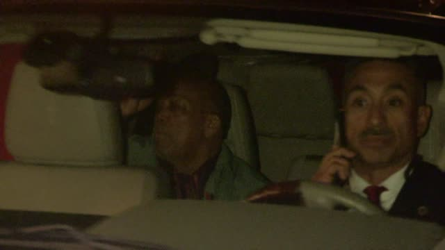quincy jones departs the after party for u2 at the chateau marmont at celebrity sightings in los angeles on may 31, 2015 in los angeles, california. - quincy jones stock-videos und b-roll-filmmaterial