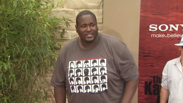 Quinton Aaron at the 'The Karate Kid' Premiere at Westwood CA