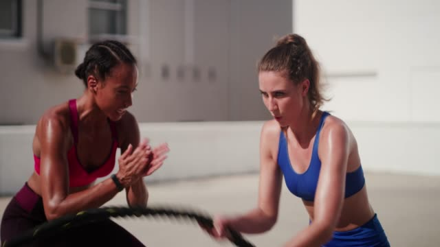 quitting is never an option for her - sportsperson stock videos & royalty-free footage