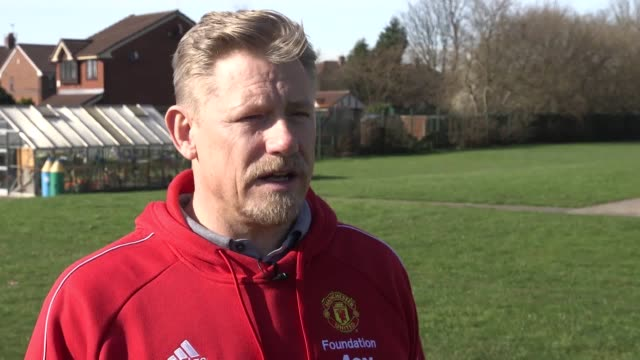 quotes from former manchester united goalkeeper peter schmeichel on the impact of ole gunnar solskjaer at manchester united he talks about solskjaer... - caretaker stock videos & royalty-free footage
