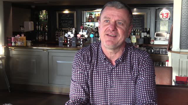 quotes from malcom tolladay, landlord of the winning post pub in york after the city was placed in to tier 2 measures after december 2. he talks... - pros and cons stock videos & royalty-free footage