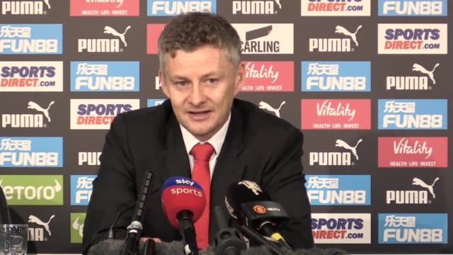Quotes from Manchester United interim manager Ole Gunnar Solskjaer following the 20 win over Newcastle He plays down his role in the immediate impact...
