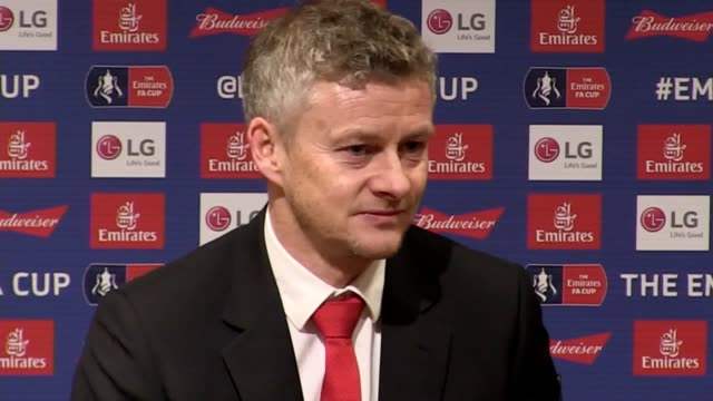 vidéos et rushes de quotes from manchester united interim manager ole gunnar solskjaer following the 2-0 win over reading. he says it was a tough game for his heavily... - var