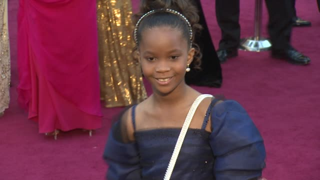 QuvenzhanŽ Wallis at 85th Annual Academy Awards Arrivals on 2/24/13 in Los Angeles CA