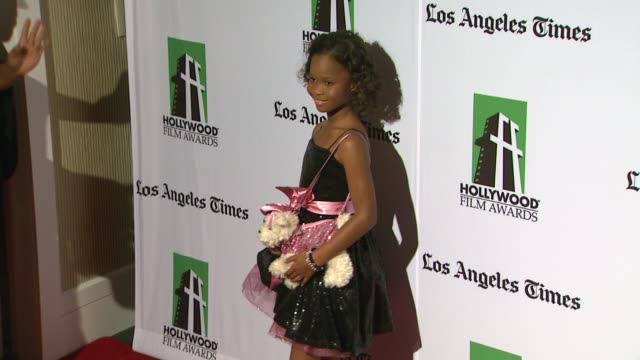 Quvenzhane Wallis at 16th Annual Hollywood Film Awards Gala on 10/22/12 in Los Angeles CA