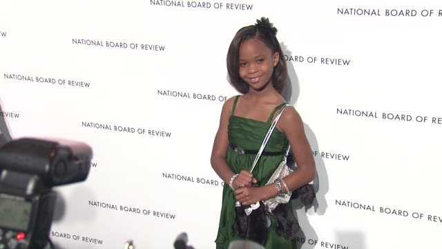 Quvenzhane Wallis at 2013 National Board Of Review Awards Gala Arrivals at Cipriani Wall Street on January 08 2013 in New York New York