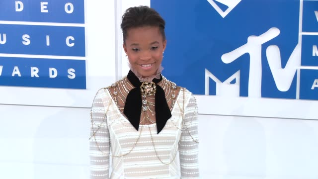 Quvenzhane Wallis at 2016 MTV Video Music Awards Arrivals at Madison Square Garden on August 28 2016 in New York City