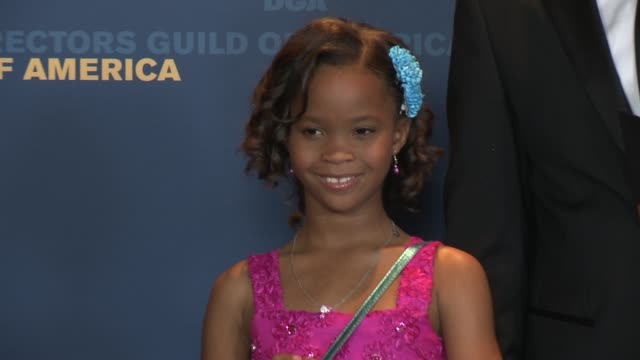 Quvenzhane Wallis at 65th Annual Directors Guild Of America Awards Press Room 2/2/2013 in Hollywood CA