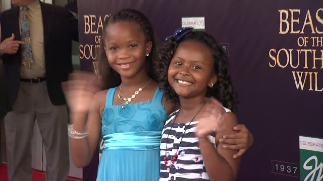 Quvenzhane Wallis at Fox Searchlight Pictures And Cinereach Present 'Beasts Of The Southern Wild' Premiere Party New Orleans Louisiana 06/25/12