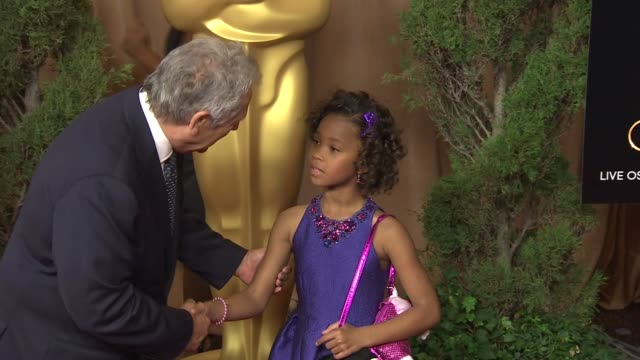 Quvenzhane Wallis at the 85th Academy Awards Nominations Luncheon in Beverly Hills CA on 2/4/13