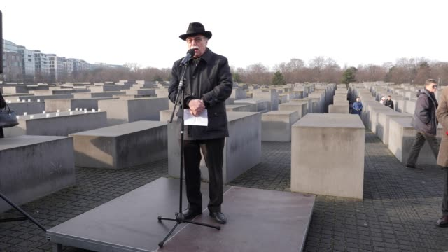 DEU: Berlin Commemorates The Victims Of The Holocaust On The 75th Anniversary Of The Liberation Of Auschwitz