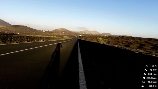 vídeos y material grabado en eventos de stock de bicicleta de carreras de datos - sports training