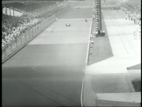 race car driver roger ward wins the 1959 indy 500 - 1959 stock videos & royalty-free footage