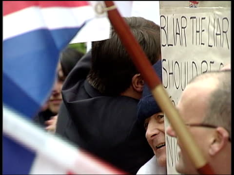 bnp leader cleared but also face retrial england yorkshire leeds ext british national party leader nick griffin along with bnp member mark collett... - griffin stock videos & royalty-free footage