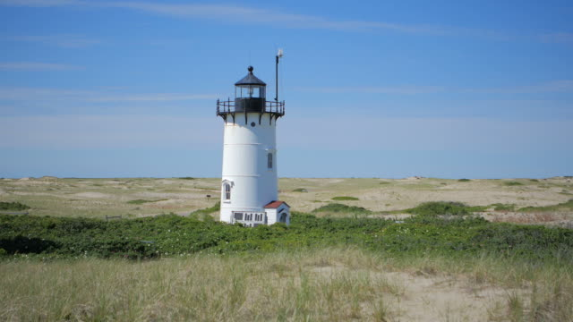 race point lighthouse - aiming stock videos and b-roll footage