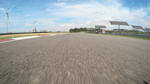 pov racetrack - sports track stock videos & royalty-free footage